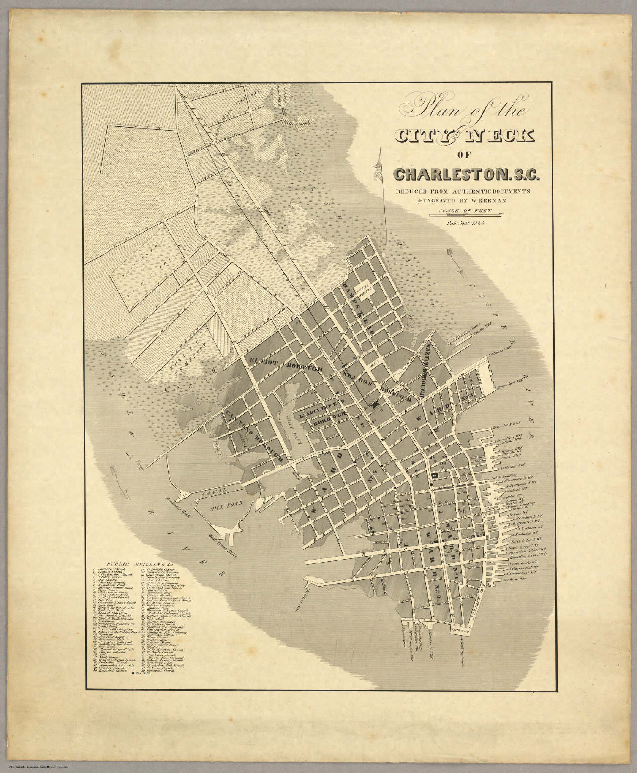 Charleston, S.C. - David Rumsey Historical Map Collection on