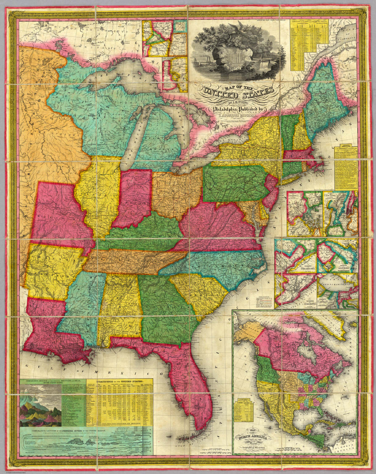 Map of the United States. - David Rumsey Historical Map Collection