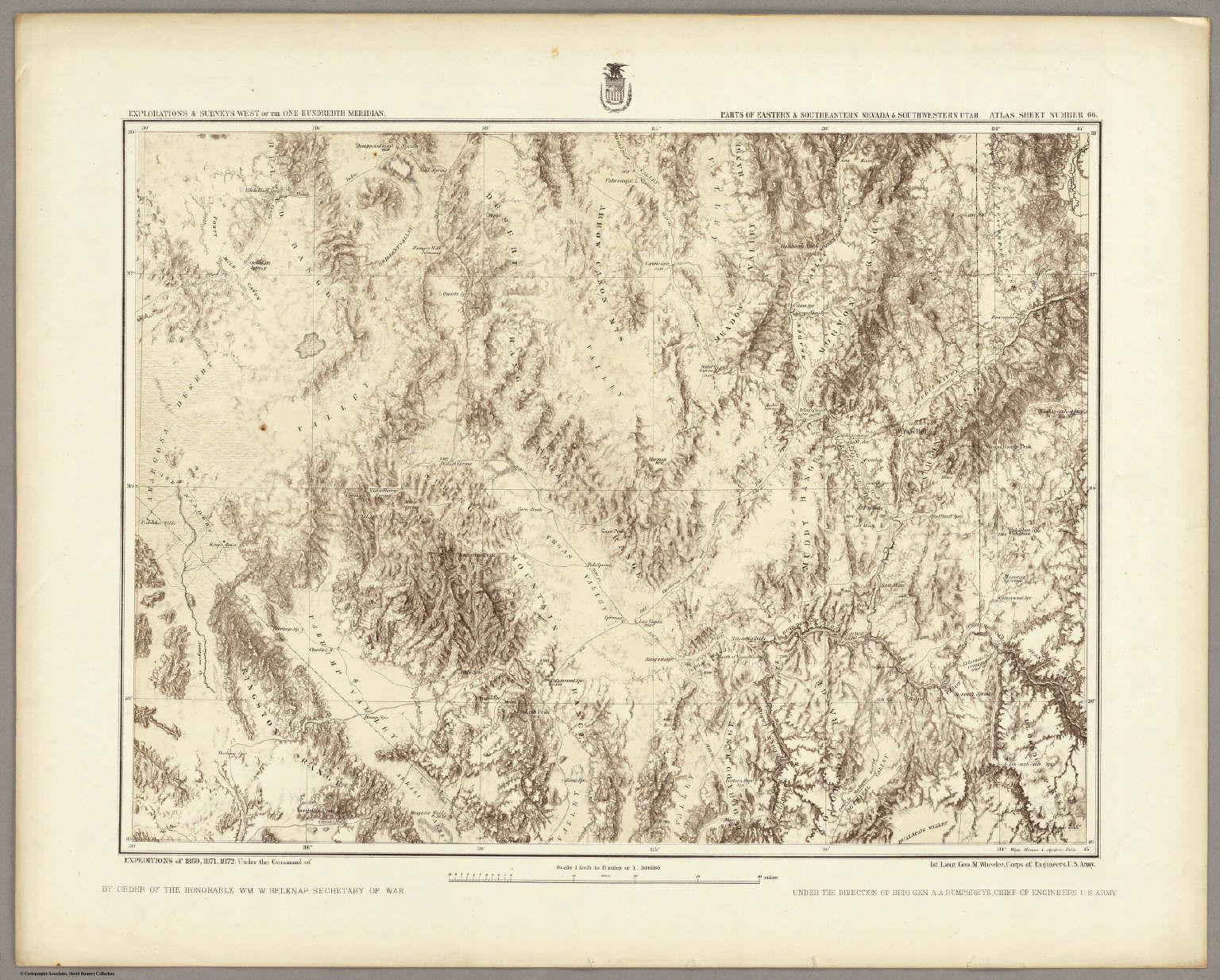 66. Parts Of Eastern & Southeastern Nevada & Southwestern Utah.
