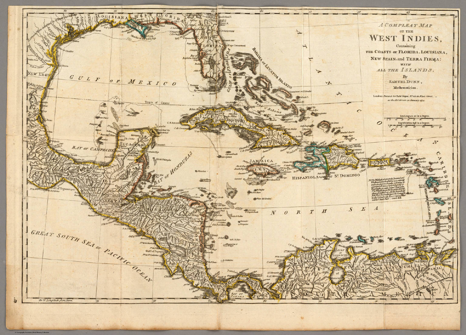 A compleat map of the west indies david rumsey historical map a compleat map of the west indies gumiabroncs Image collections