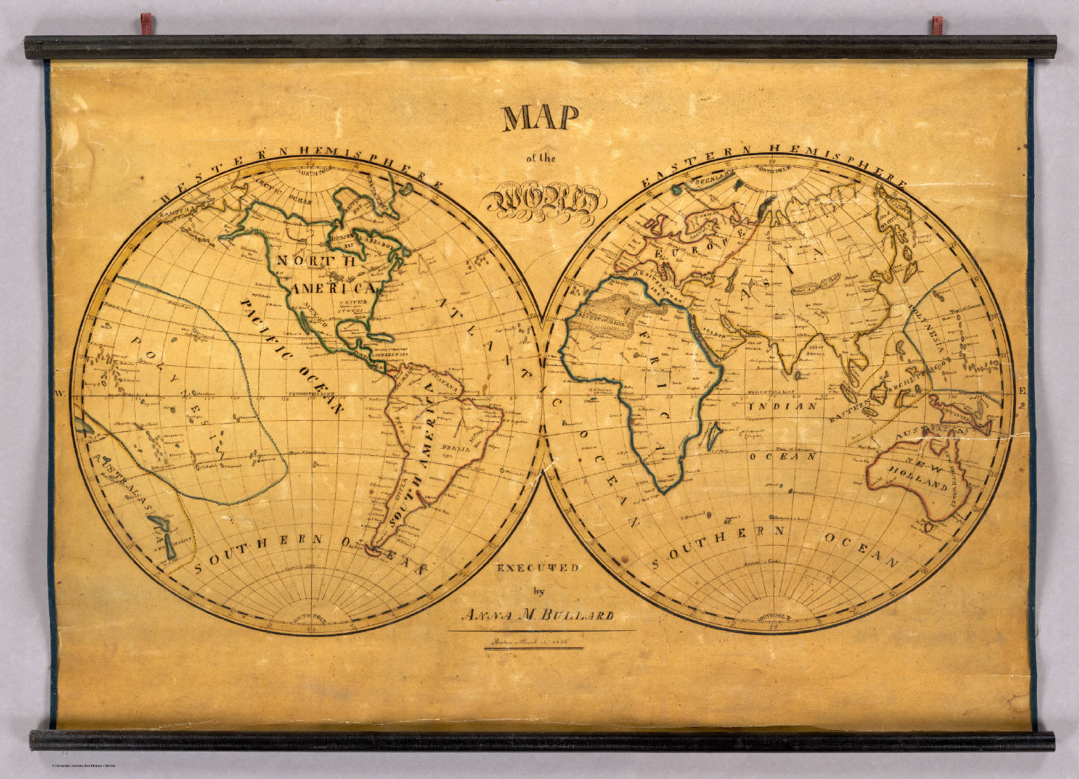 Map of the world david rumsey historical map collection map of the world gumiabroncs Choice Image