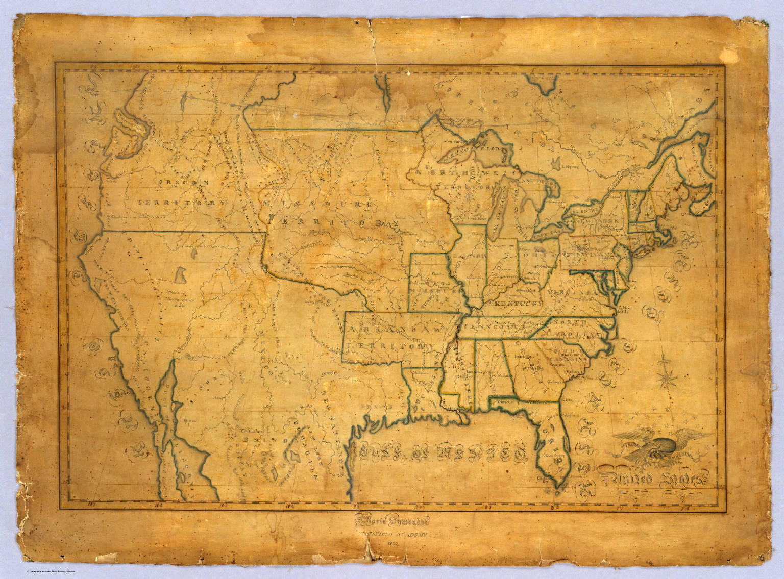 United States. - David Rumsey Historical Map Collection