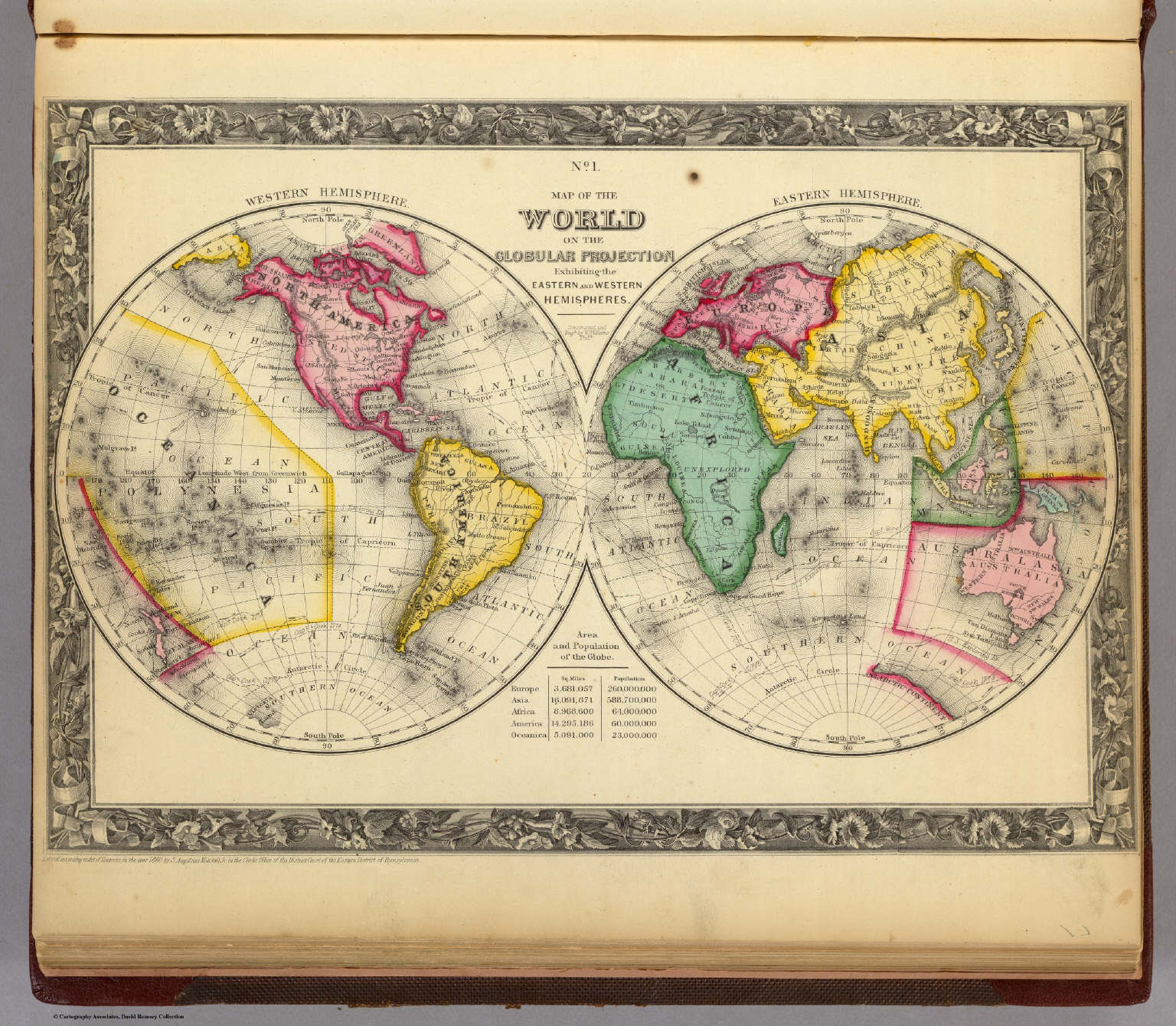 Map World Eastern Western Hemisphere Picture Ideas References - Us Map Globular Projection