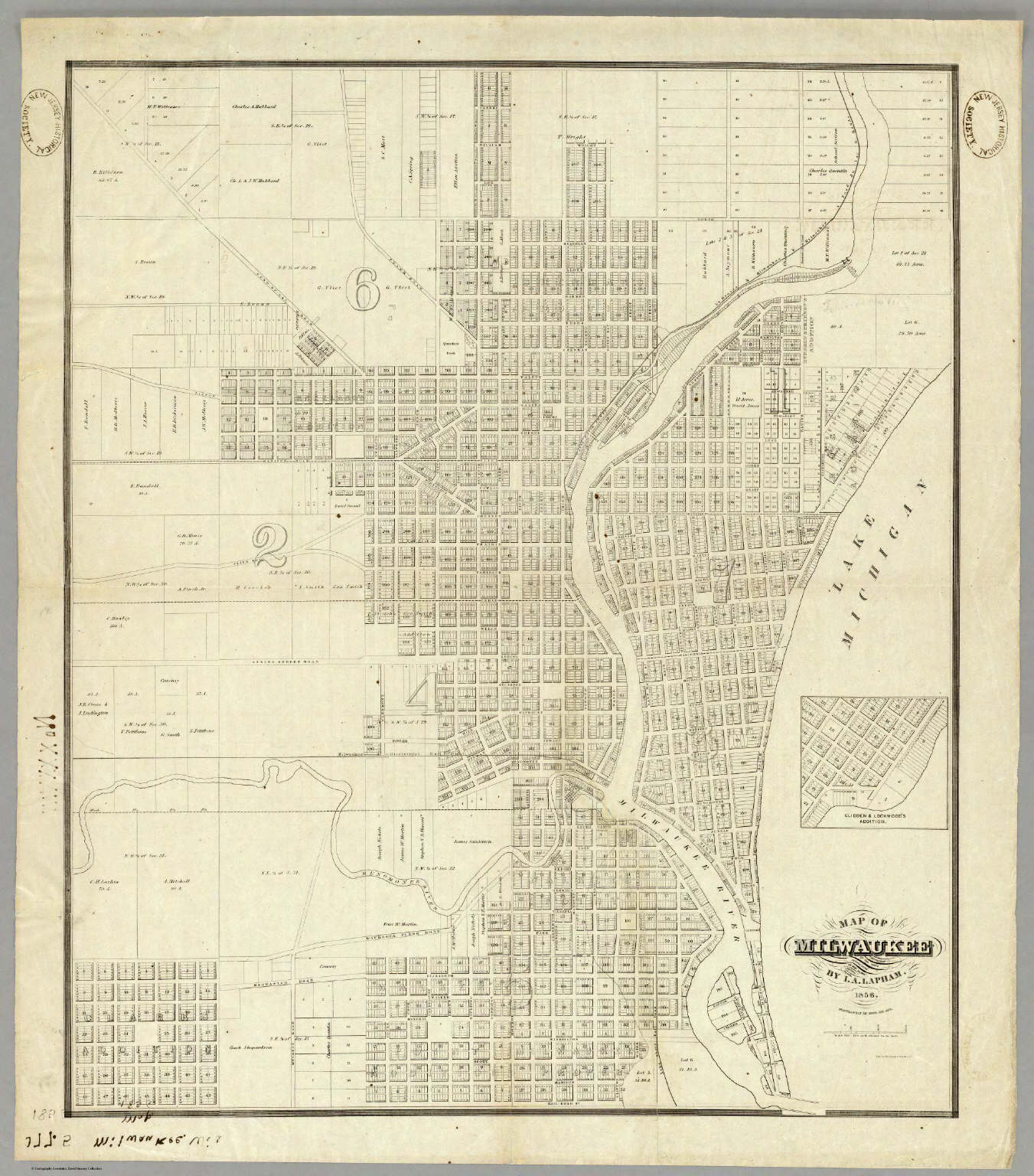 Map Of Milwaukee. - David Rumsey Historical Map Collection