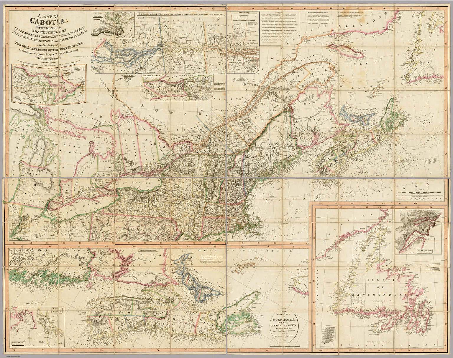 A Map Of Cabotia.