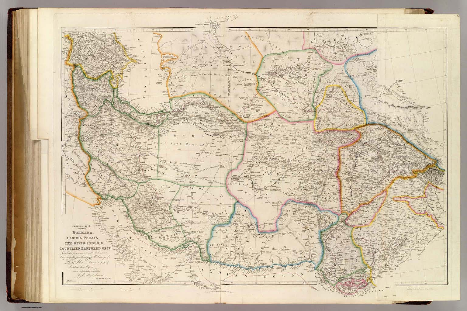 Central Asia. - David Rumsey Historical Map Collection