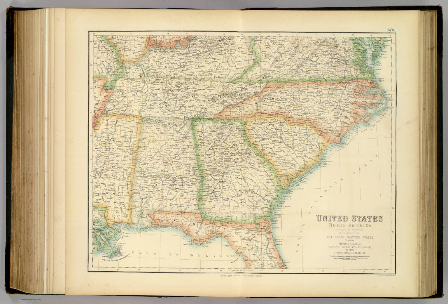 United States ... South Eastern States. - David Rumsey Historical ...