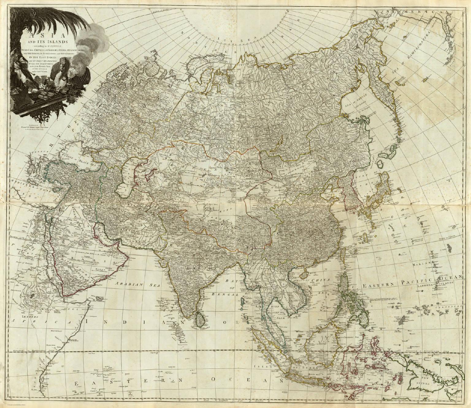 composite asia islands according to danville