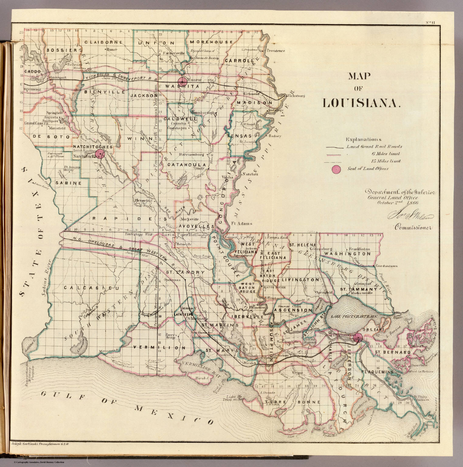 Louisiana David Rumsey Historical Map Collection - Historic maps louisiana