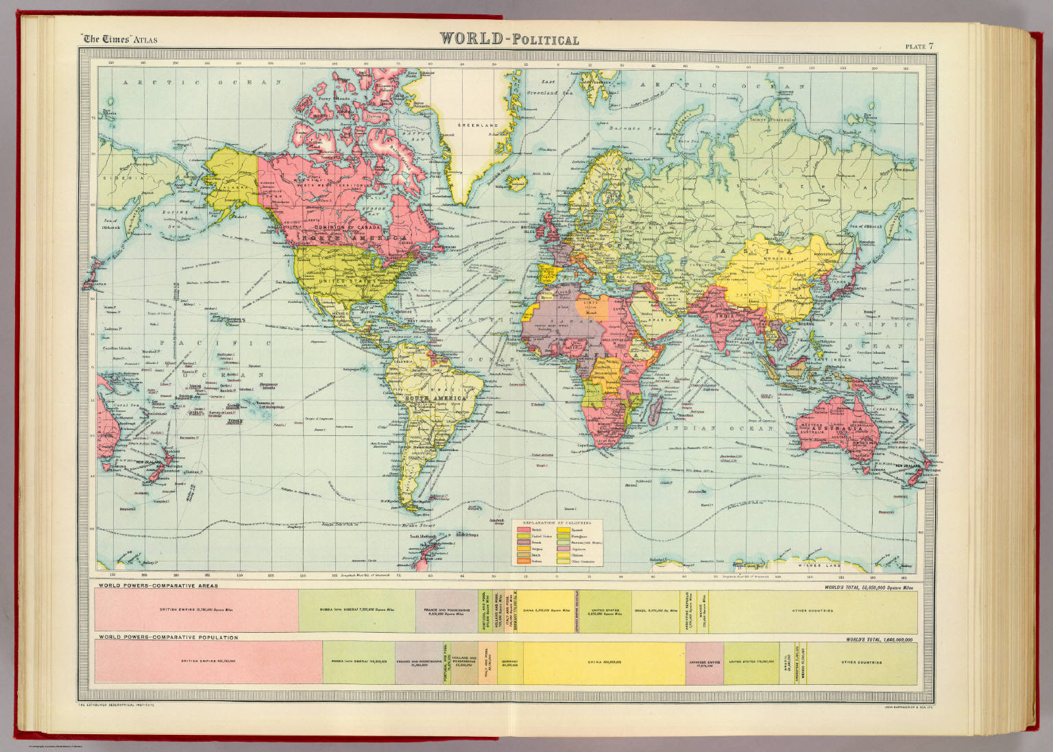 World political david rumsey historical map collection world political gumiabroncs Gallery