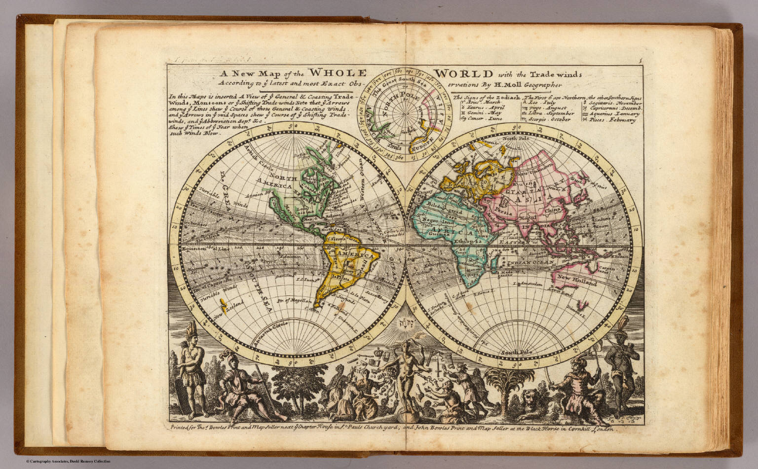 A new map of the whole world with trade winds. - David Rumsey ...