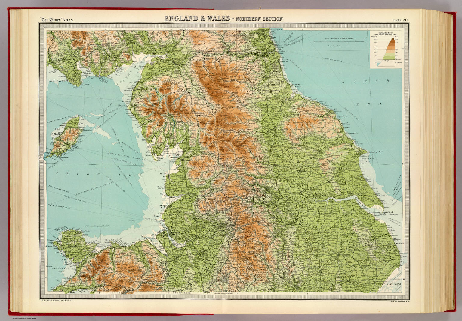 England wales northern section david rumsey historical map england wales northern section gumiabroncs Image collections
