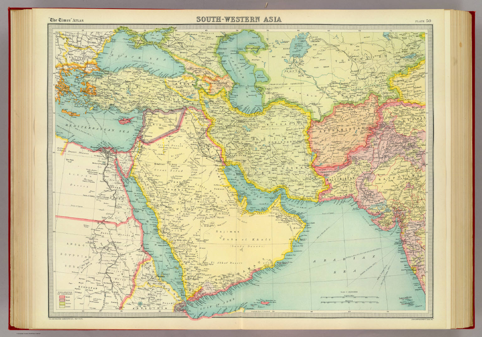 South-western Asia. - David Rumsey Historical Map Collection