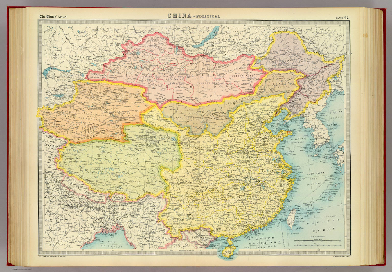 China - political. - David Rumsey Historical Map Collection