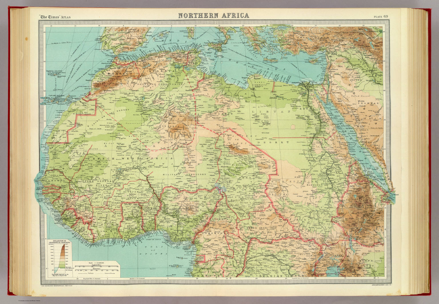 Northern Africa. - David Rumsey Historical Map Collection