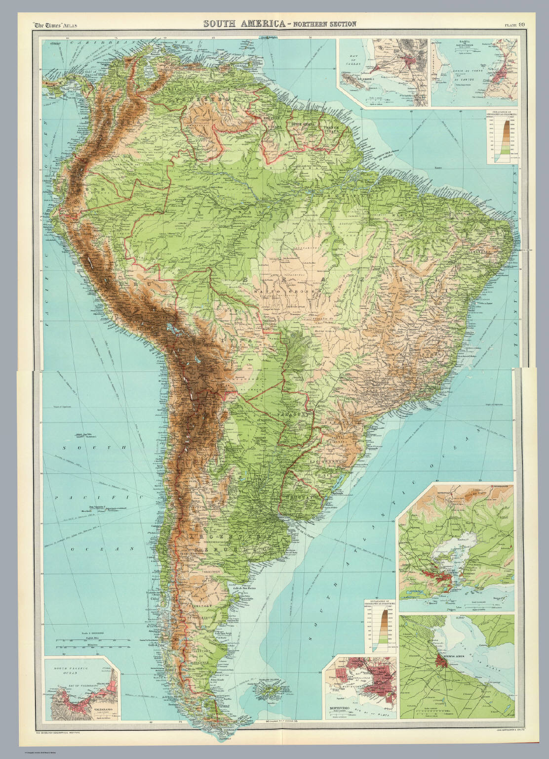 Composite South America David Rumsey Historical Map Collection
