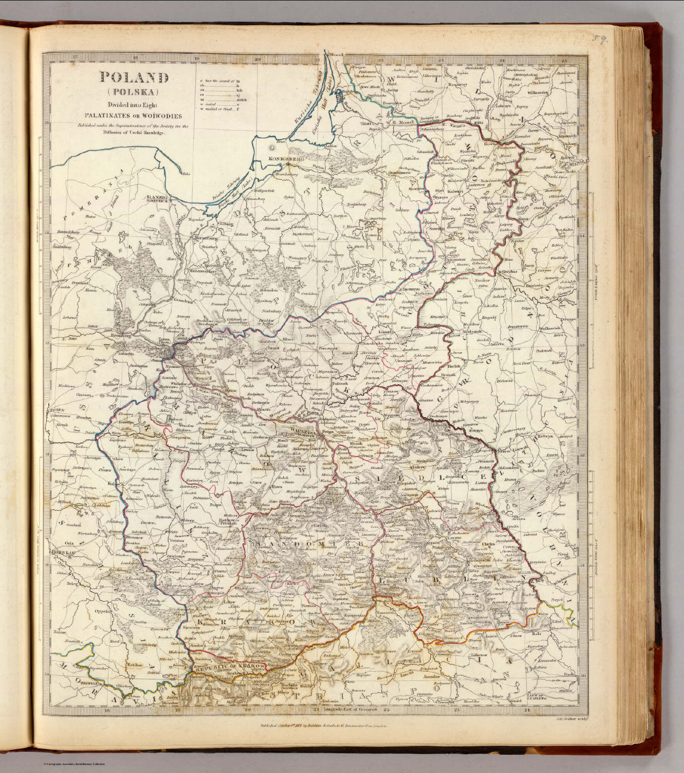 Poland Polska David Rumsey Historical Map Collection