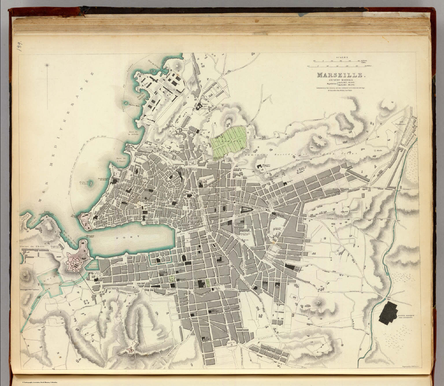Marseille David Rumsey Historical Map Collection