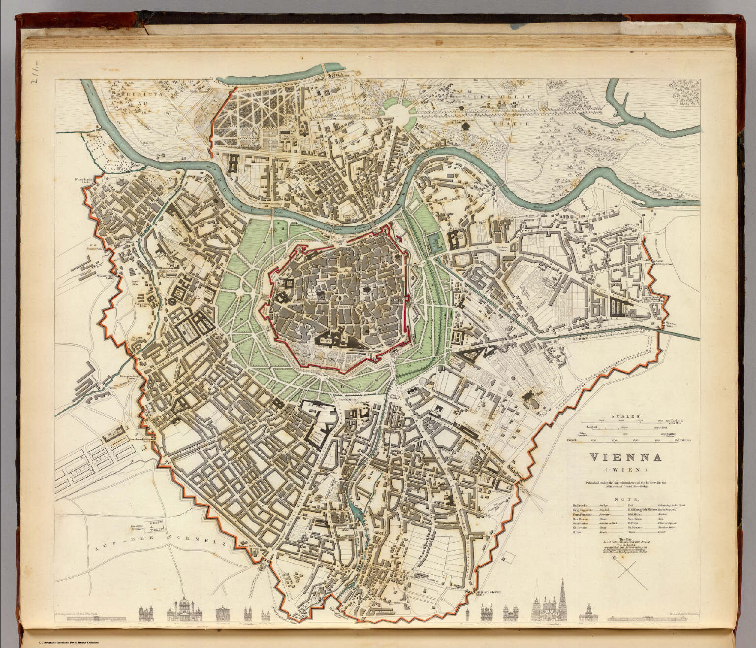 Vienna Wien David Rumsey Historical Map Collection - Buy historical maps
