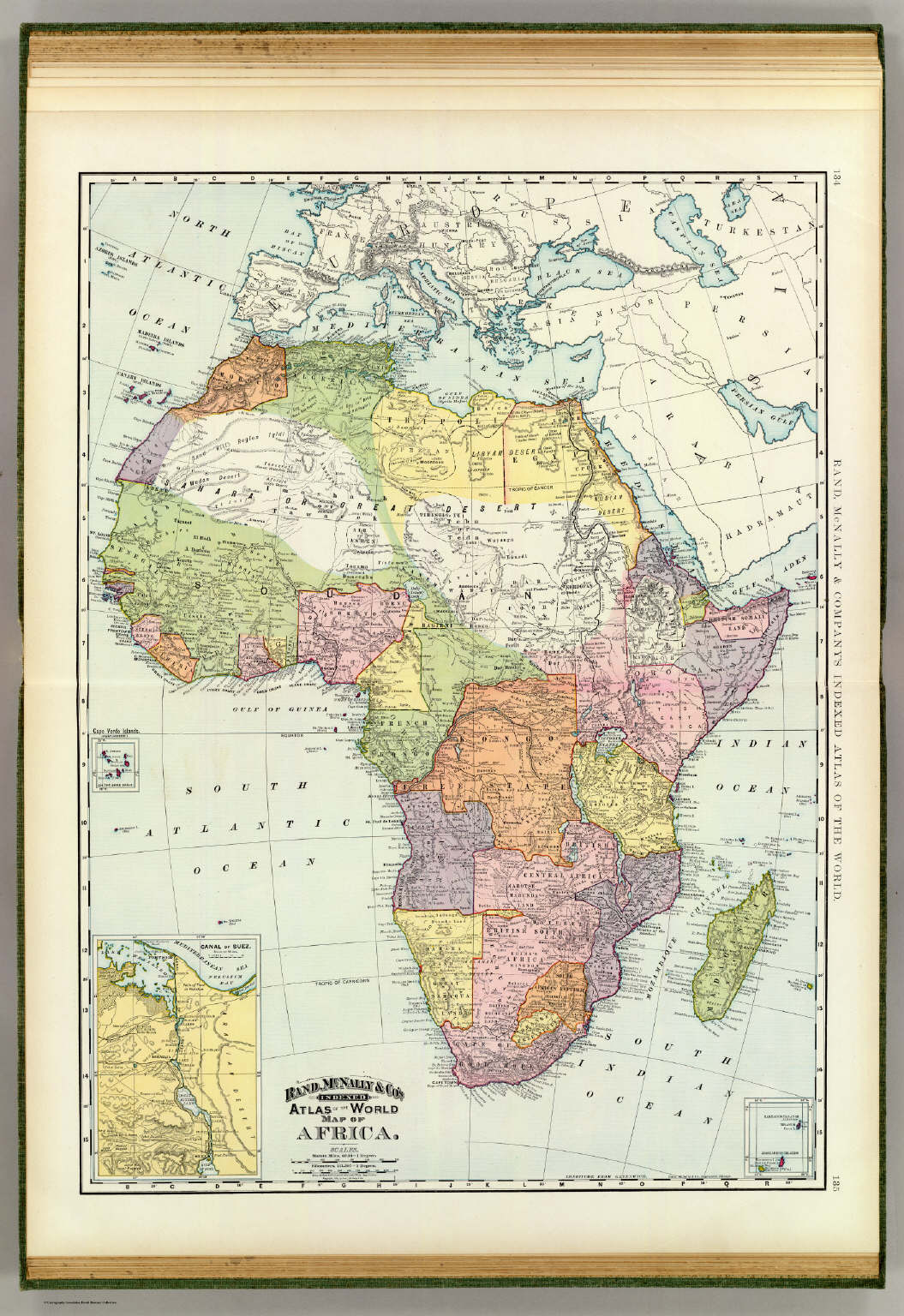 Suez Canal On Africa Map.Africa Suez Canal David Rumsey Historical Map Collection