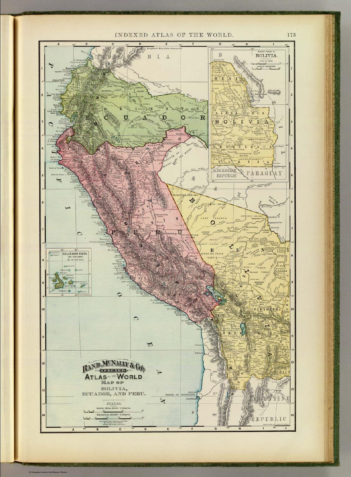 Bolivia ecuador peru david rumsey historical map collection bolivia ecuador peru gumiabroncs Gallery