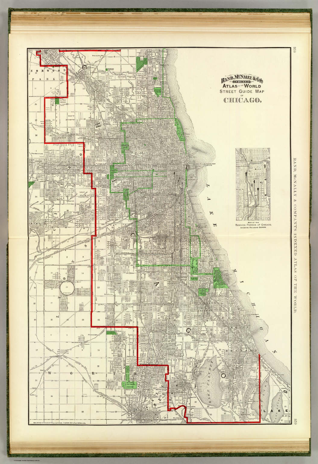 Chicago David Rumsey Historical Map Collection