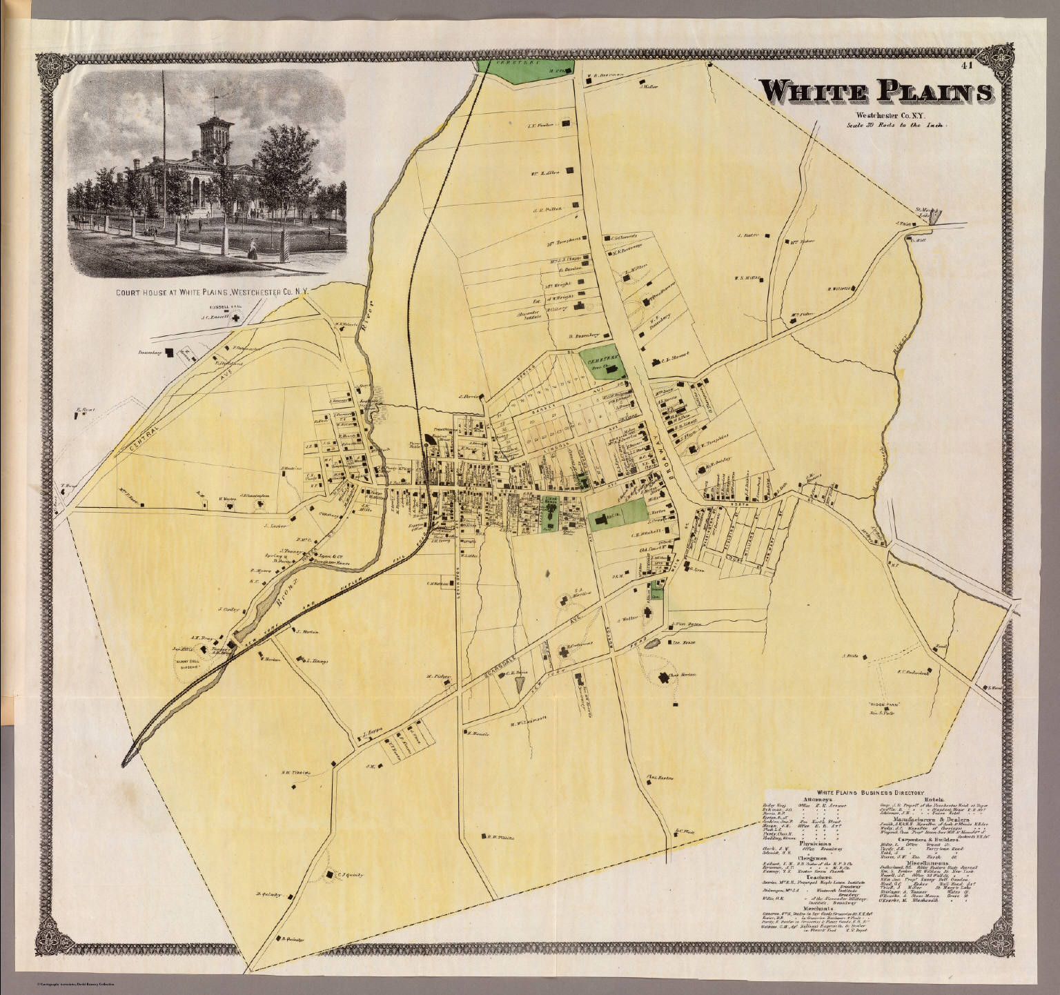 White Plains NY David Rumsey Historical Map Collection