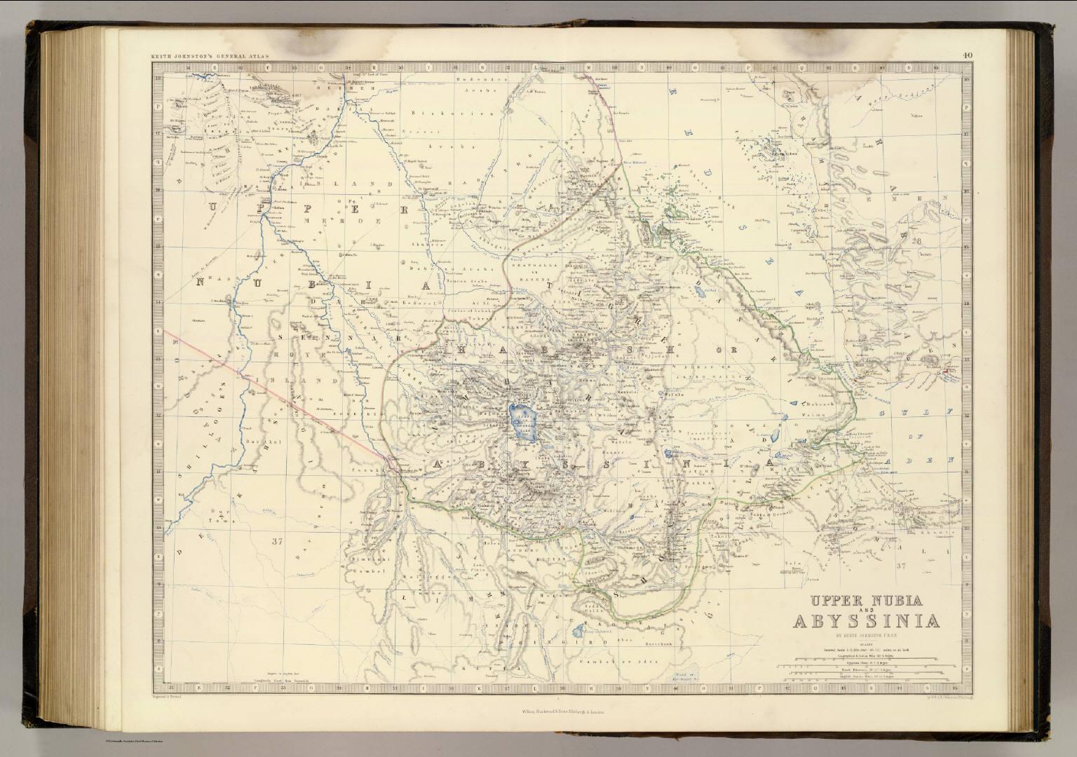 Nubia, Abyssinia.
