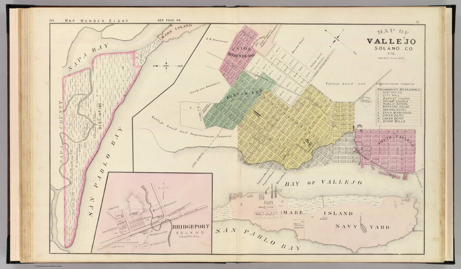 Vallejo Solano Co 8 David Rumsey Historical Map Collection