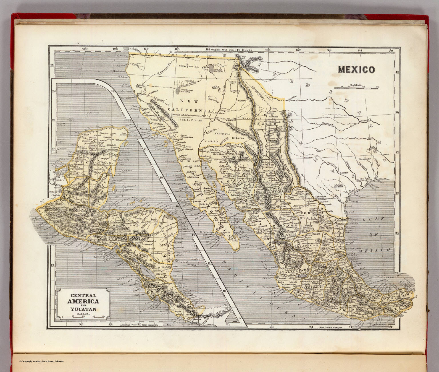 Mexico Map 1794.Mexico Central America David Rumsey Historical Map Collection