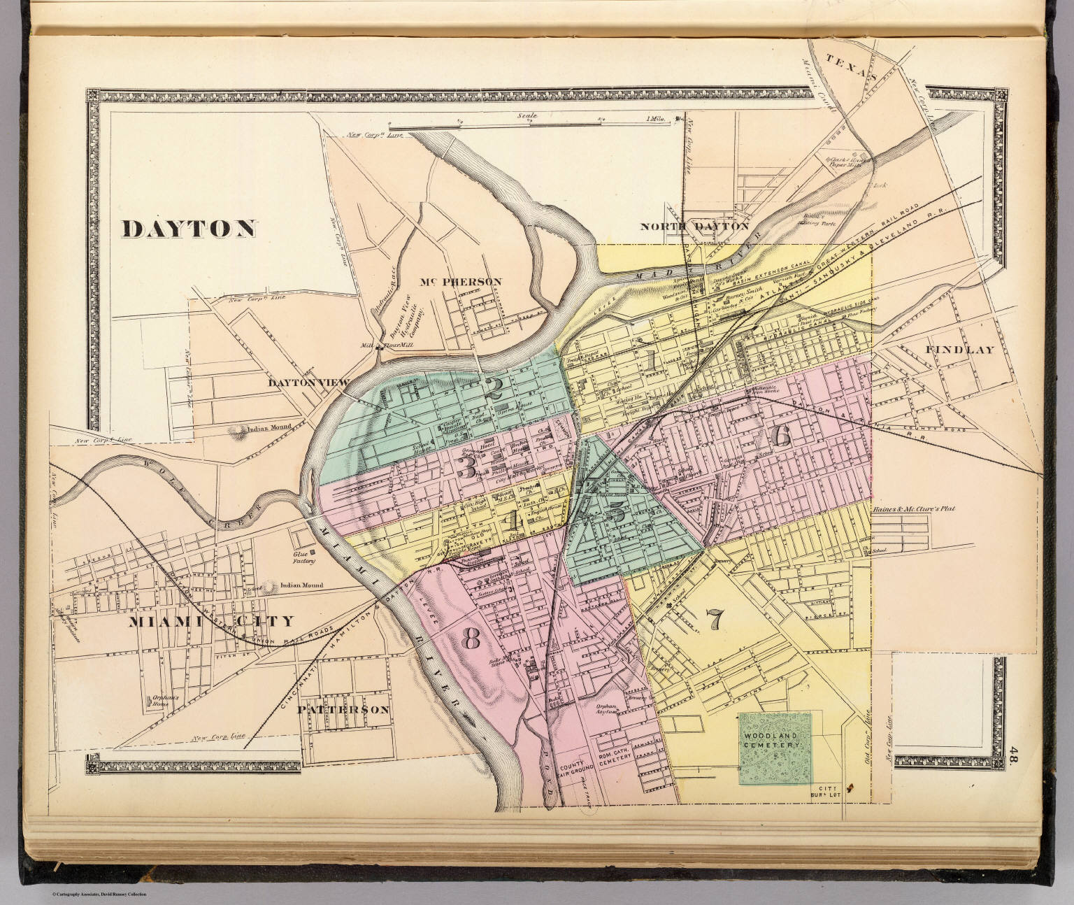 Dayton David Rumsey Historical Map Collection