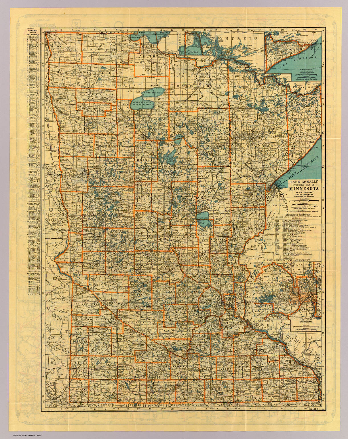 Minnesota standard map - David Rumsey Historical Map Collection