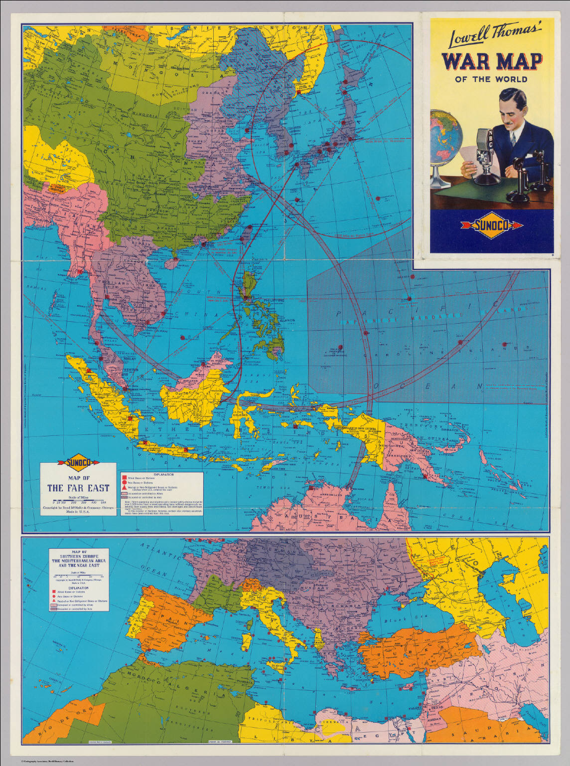 Far East, Mediterranean Area. - David Rumsey Historical Map Collection