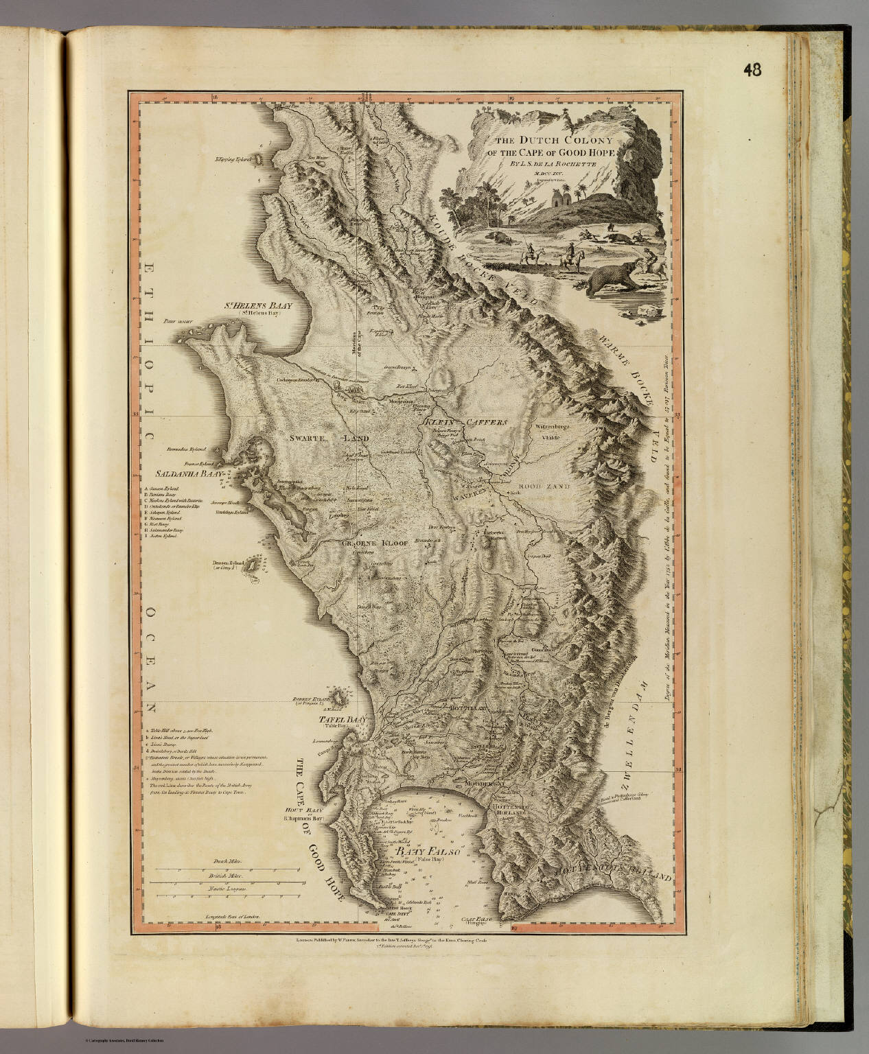 Cape of Good Hope. - David Rumsey Historical Map Collection