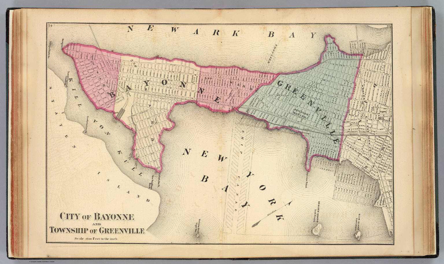 Bayonne Greenville Twp David Rumsey Historical Map Collection