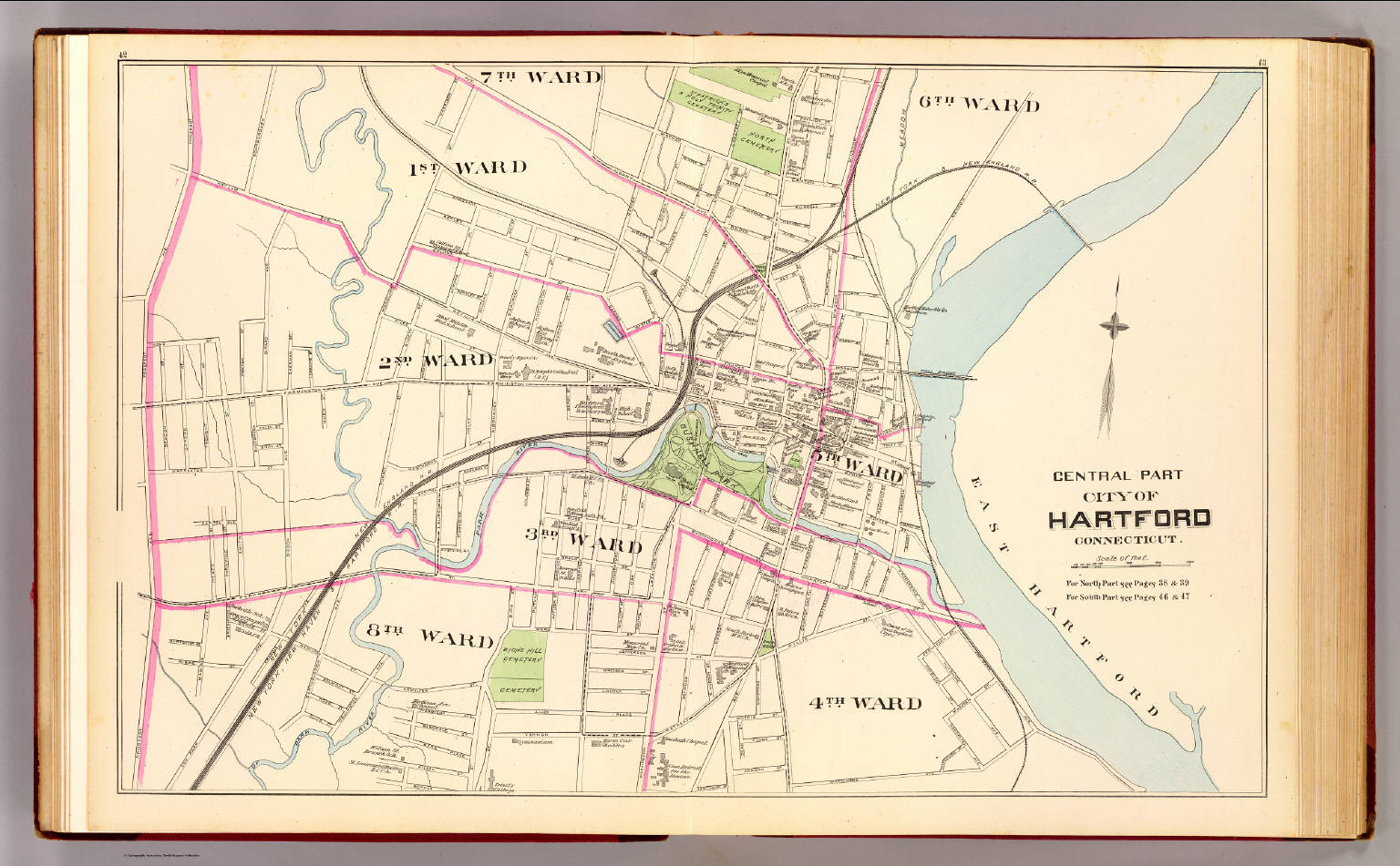 Hartford, Central. - David Rumsey Historical Map Collection