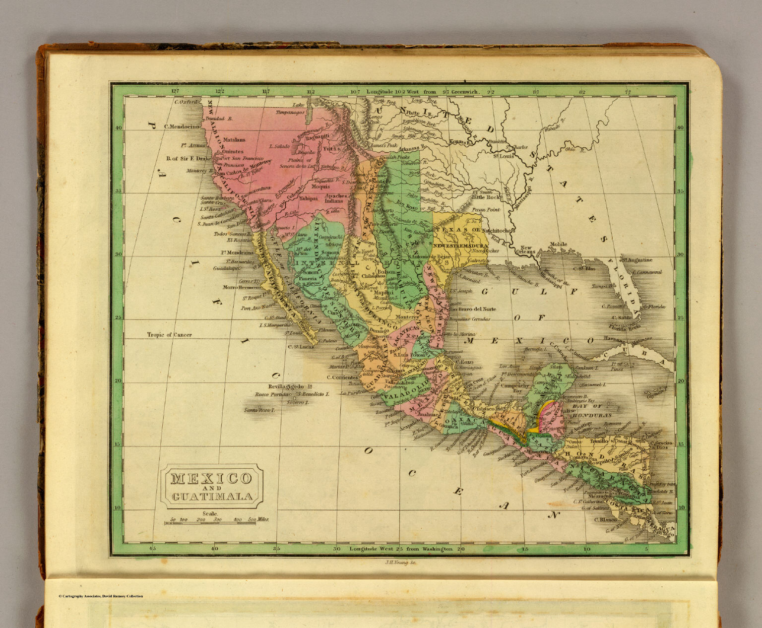 Mexico Guatimala David Rumsey Historical Map Collection