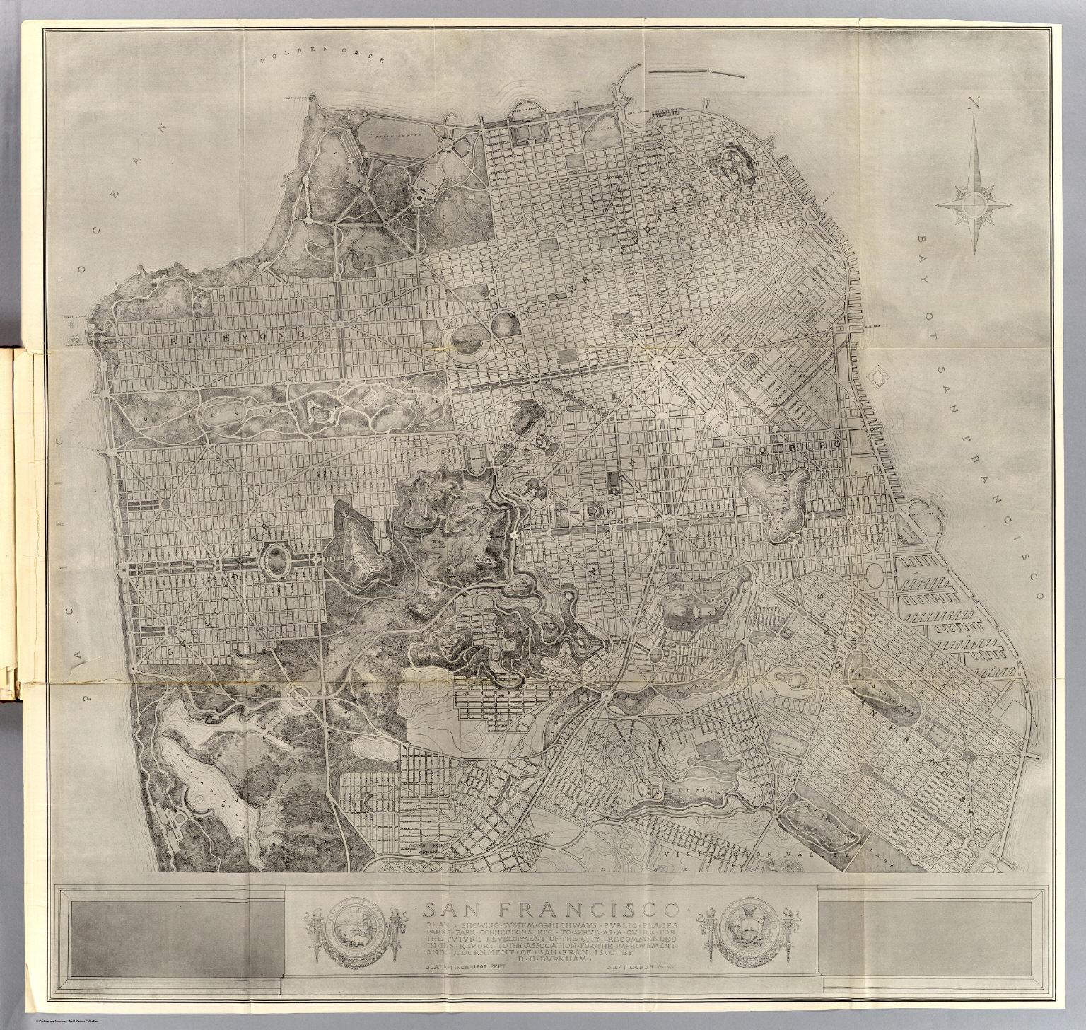 San Francisco plan. - David Rumsey Historical Map Collection