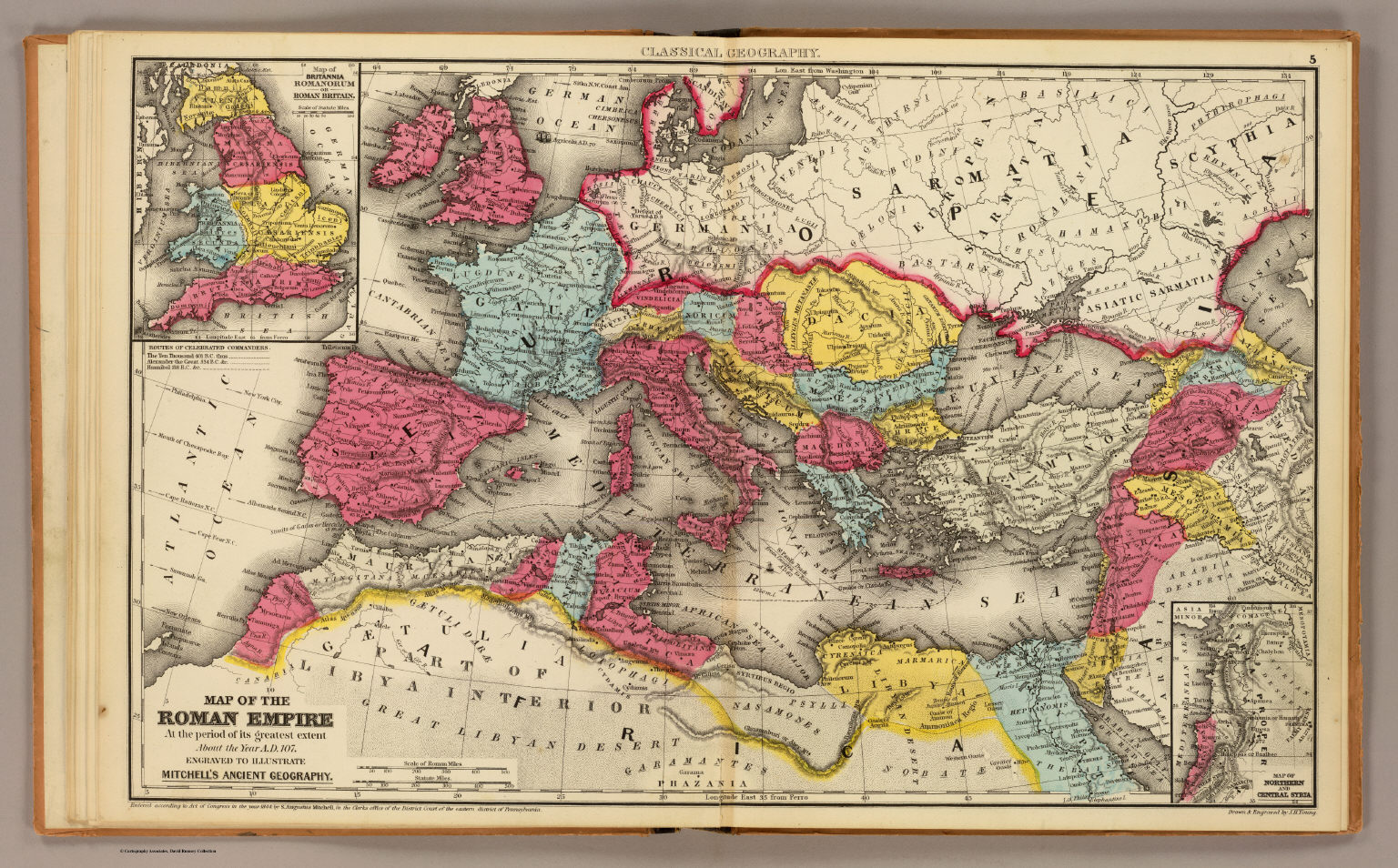 Roman Empire David Rumsey Historical Map Collection