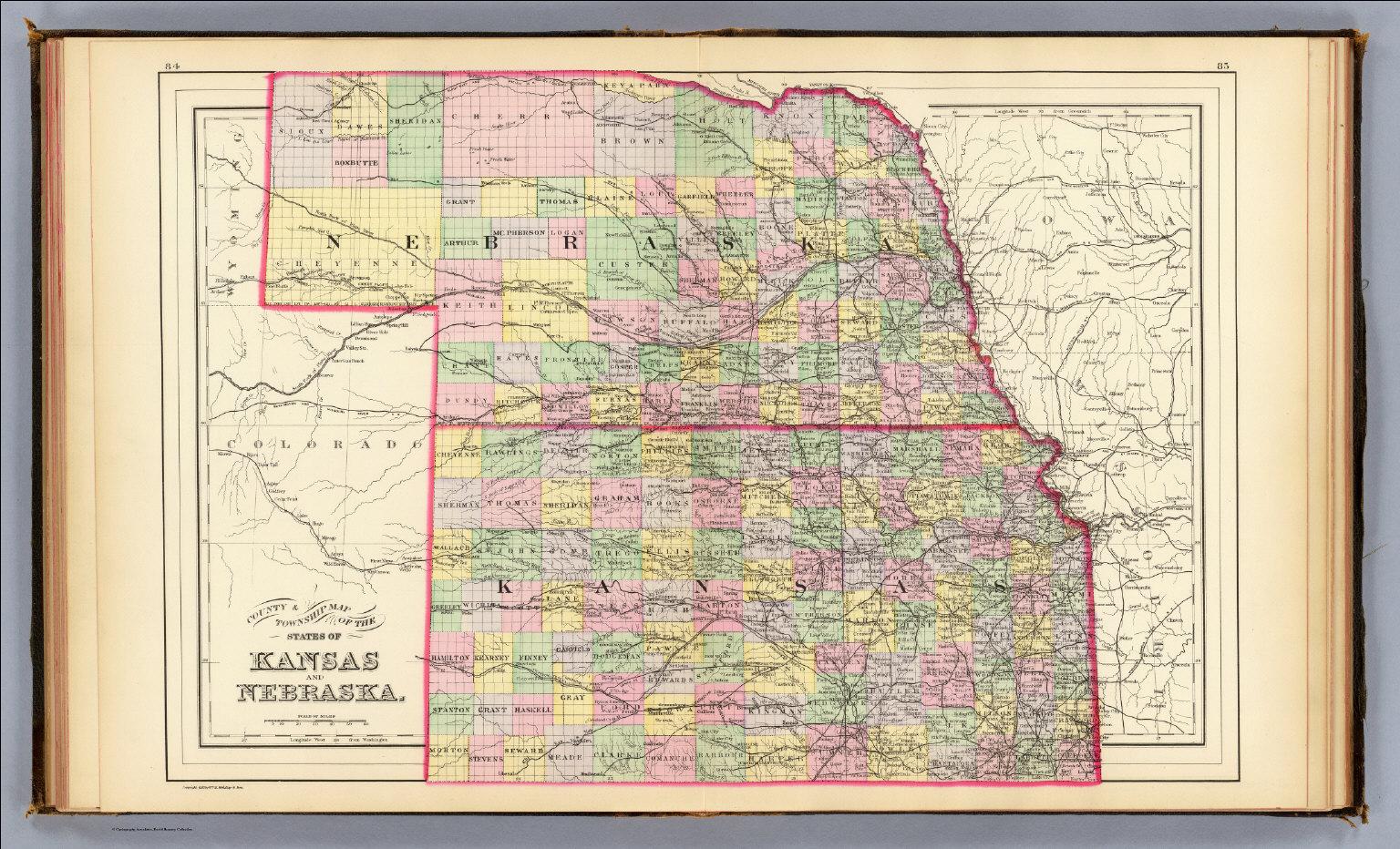 Kansas, Nebraska. / (Mitchell, Samuel Augustus) / 1890