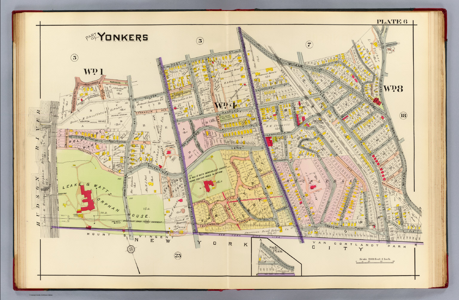 6 Yonkers David Rumsey Historical Map Collection