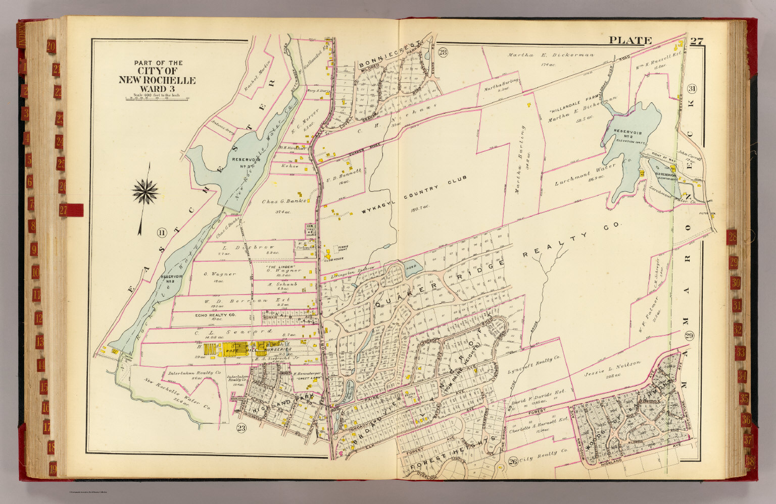 New Rochelle ward 3 David Rumsey Historical Map Collection