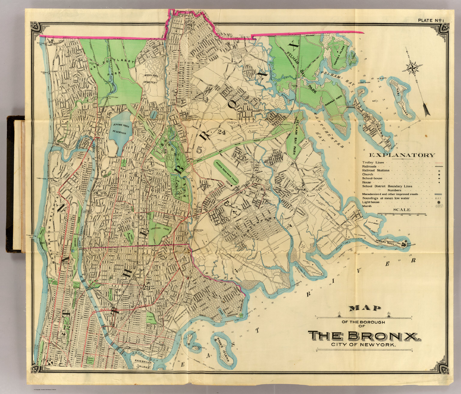 Bronx David Rumsey Historical Map Collection - Antique maps nyc