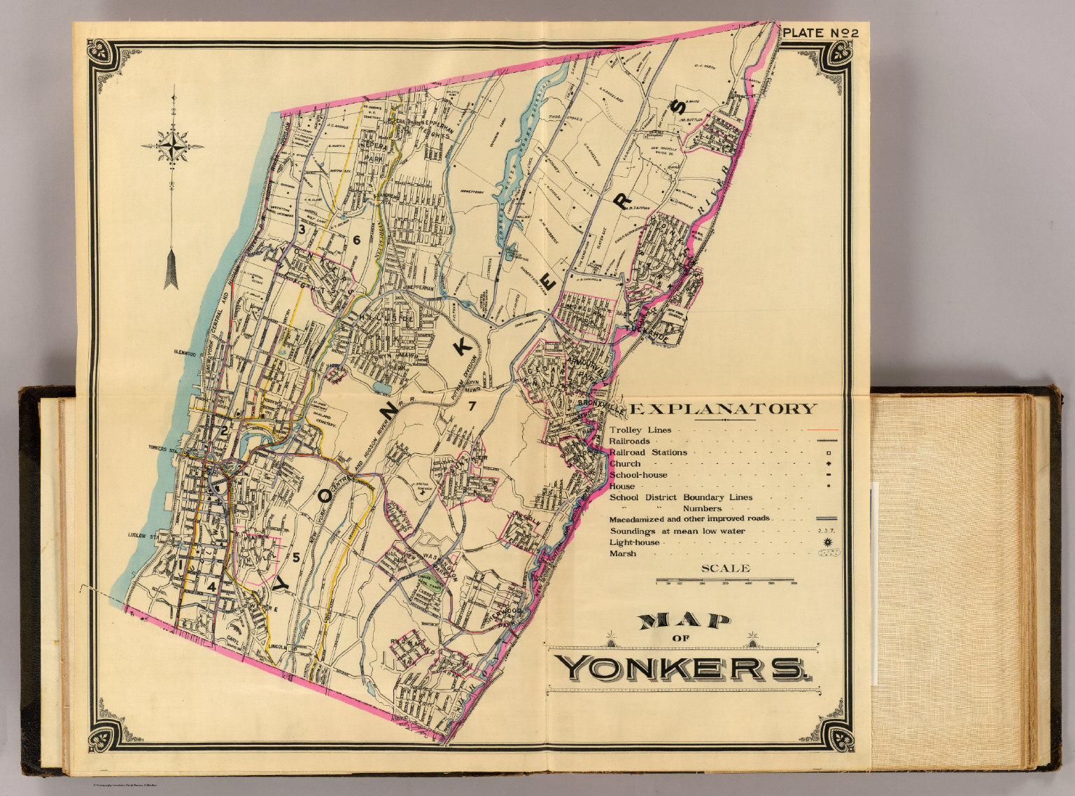2 Yonkers David Rumsey Historical Map Collection