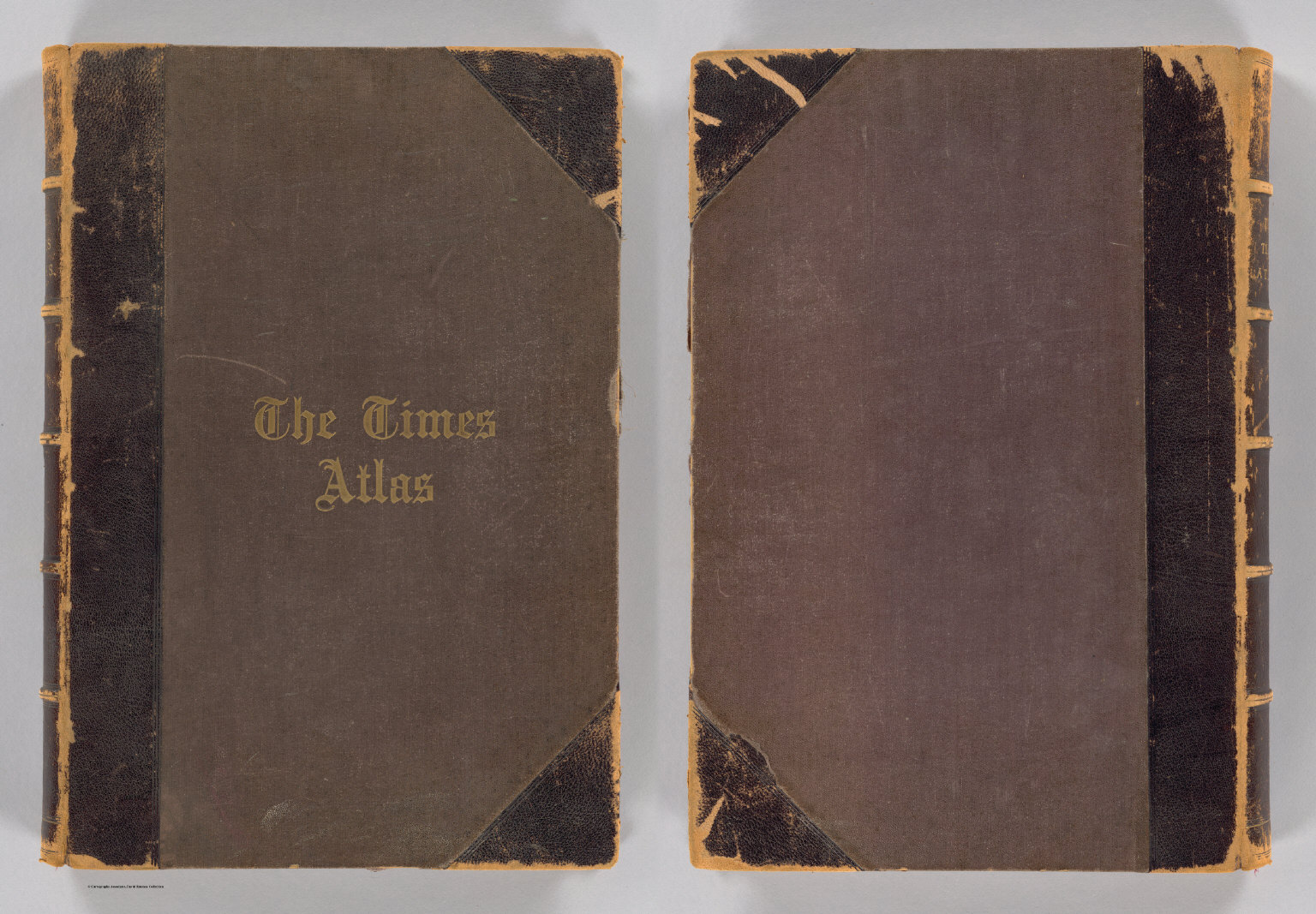 Cover: Times atlas.