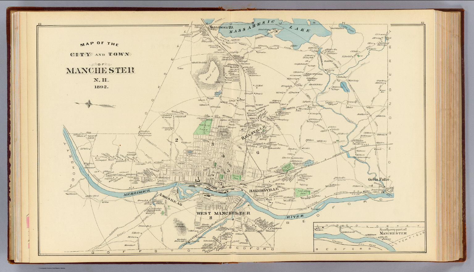 Manchester, N.H. city, town. - David Rumsey Historical Map ... on mall of la map, mall of ga map, mall of new hampshire map, newington mall map, mall of florida map, mall of manhattan map, fox run mall map, mall of millenia store map,