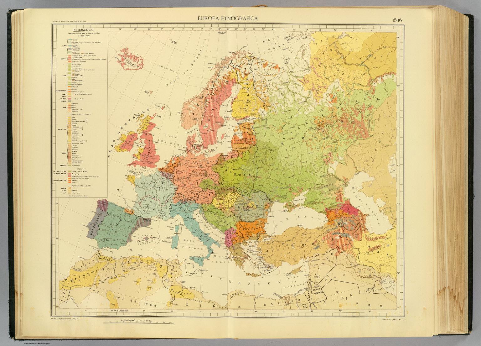 15-16. Europa etnografica.