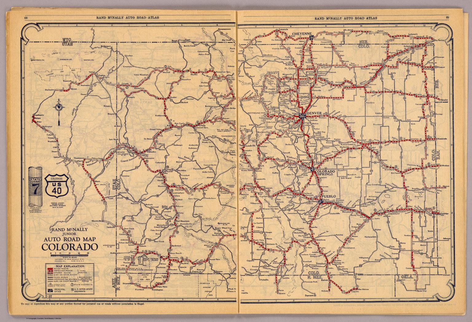 Colorado. - David Rumsey Historical Map Collection