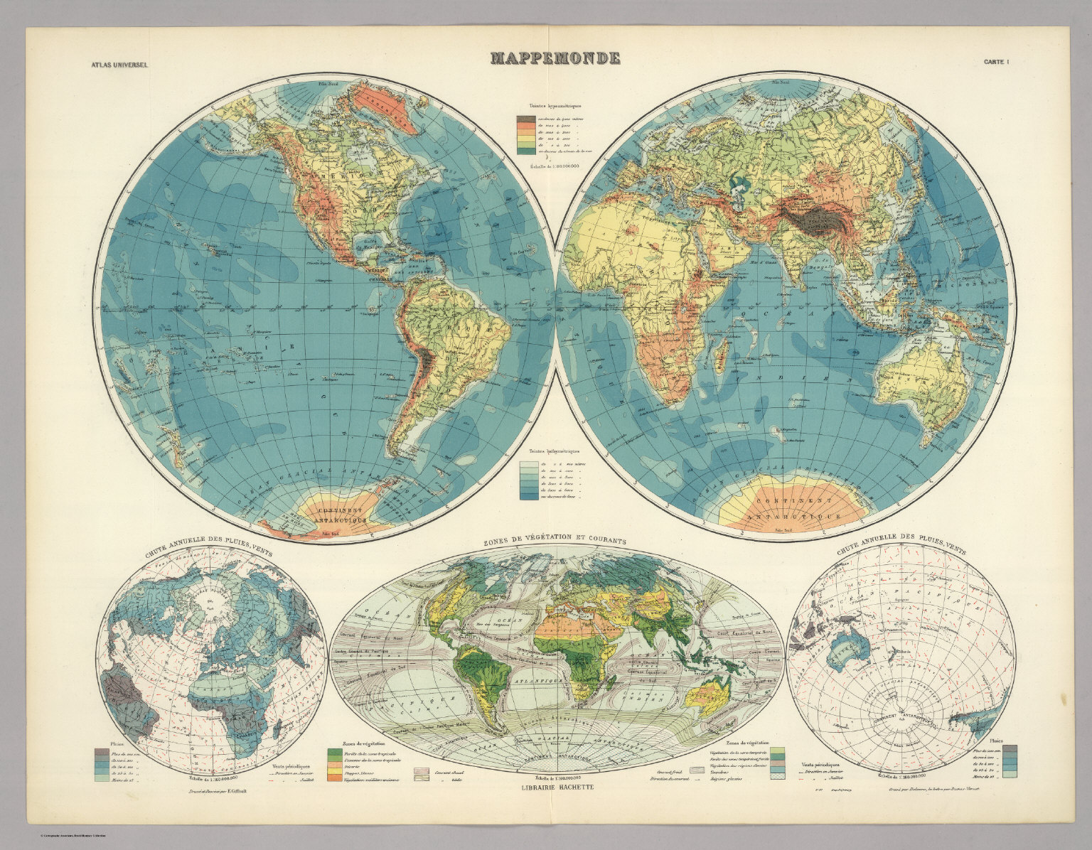 Mappemonde Originale tout mappemonde. - david rumsey historical map collection