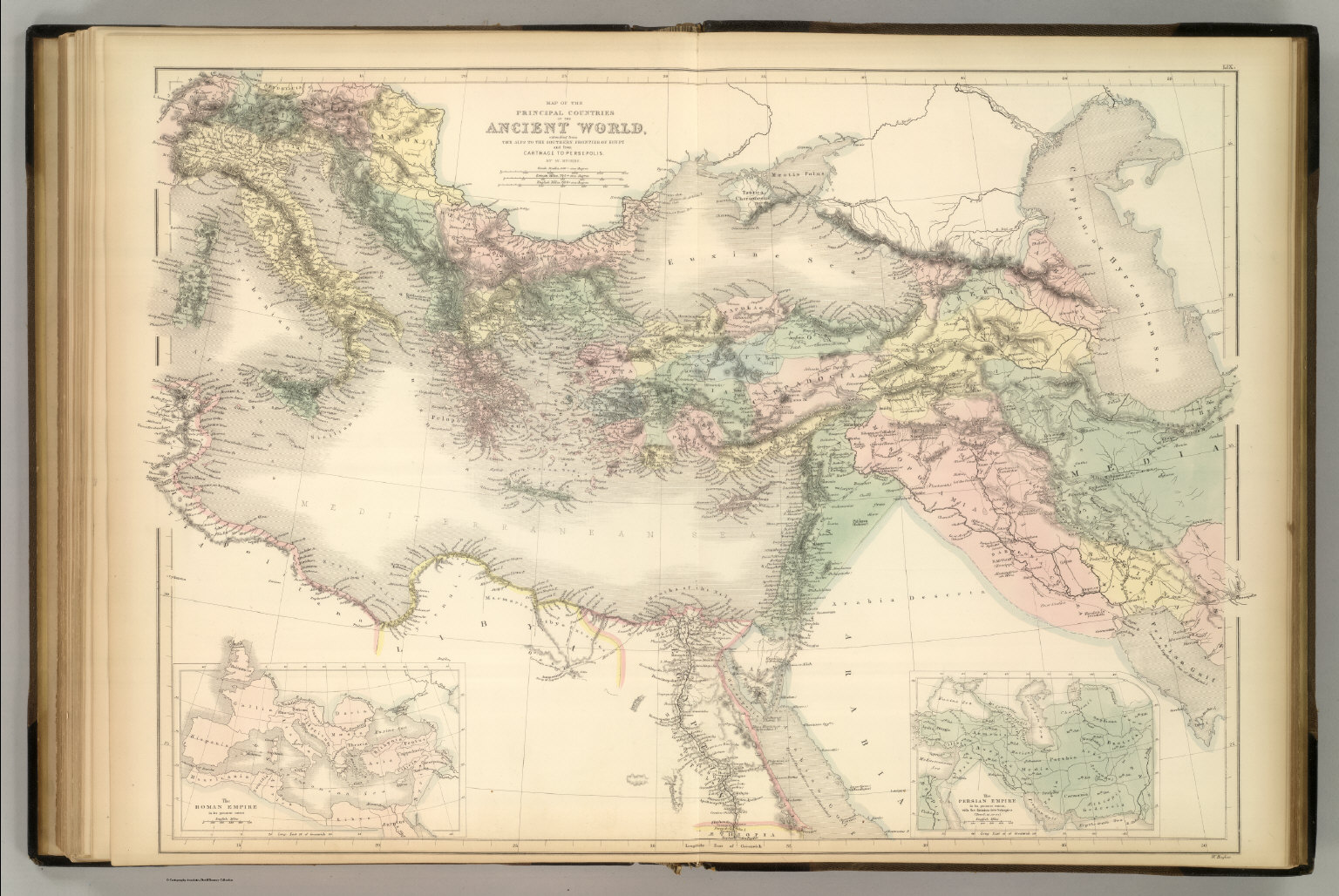 Principal Countries Of The Ancient World David Rumsey Historical